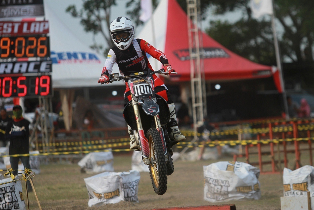 Debut Ciamik Jawara MX Asia di Trial Game