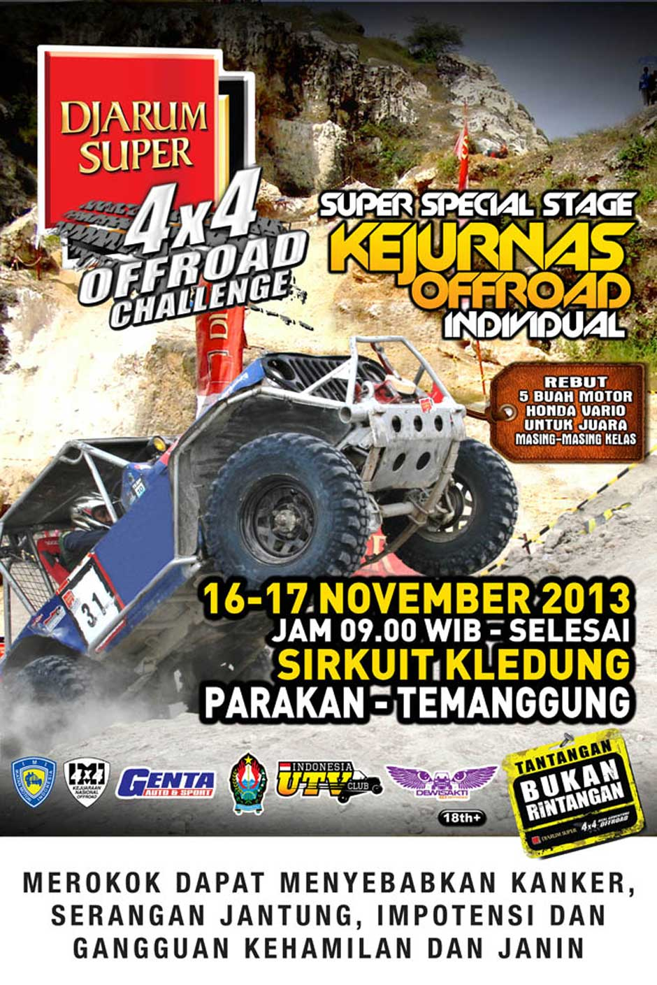 KEJUARAAN NASIONAL SUPER SPECIAL STAGE OFFROAD INDIVIDUAL