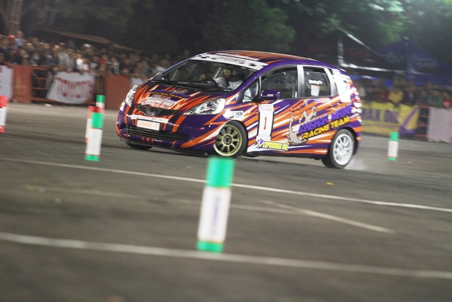 Lupromax Indonesia Night City Slalom (INCS) 2014 Seri-4 Solo