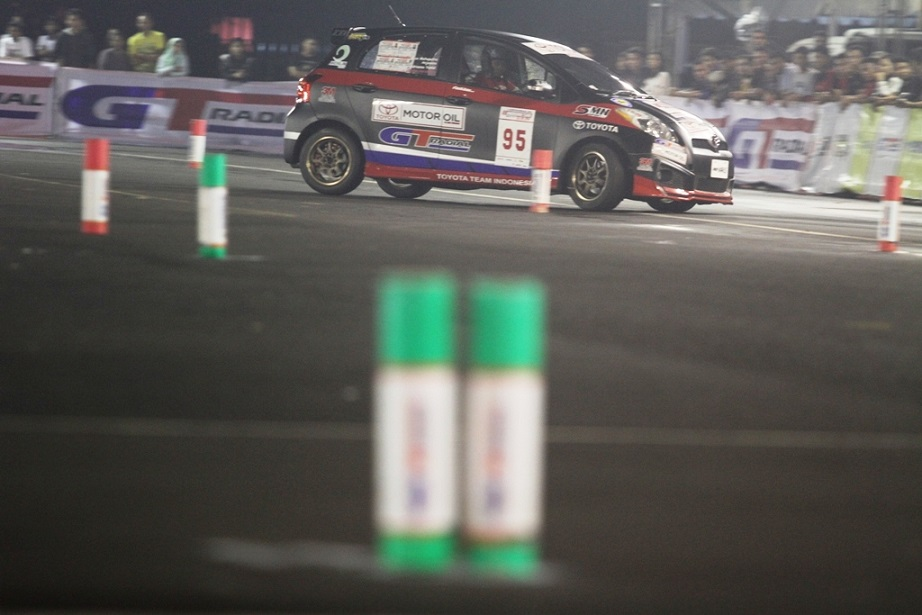 Toyota Indonesia Night City Slalom (INCS) 2014 Seri-5 (Final)