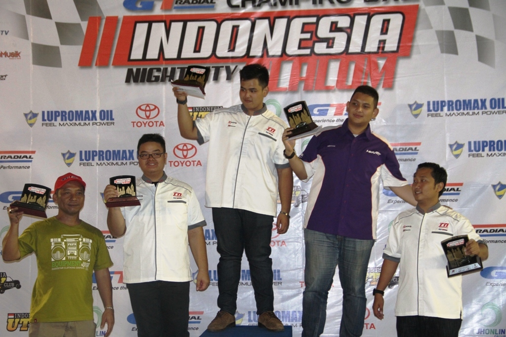 GT Radial Champiro SX2 Indonesia Night City Slalom 2014