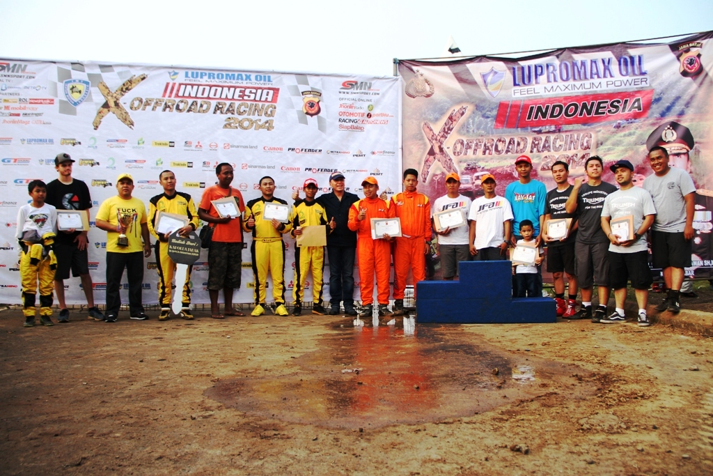 Lupromax Oil Indonesia Extreme Offroad Racing 2014 Seri II