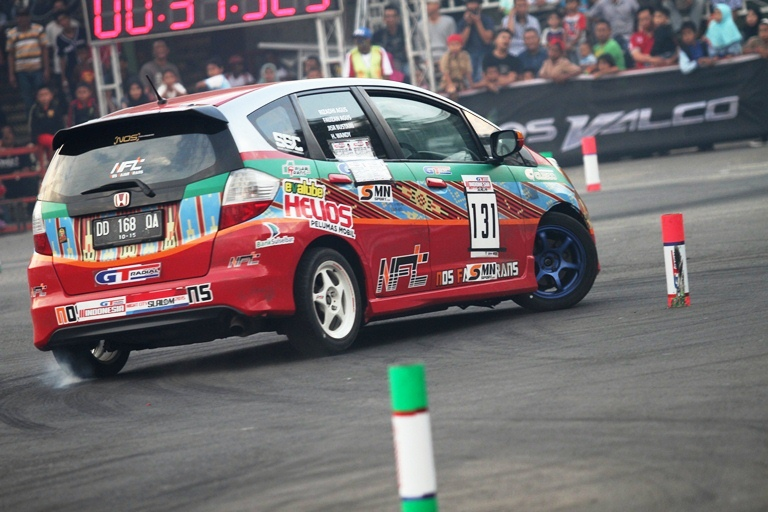 Kejurnas GT Radial Indonesia Night City Slalom 2015 Seri I (Lampung)