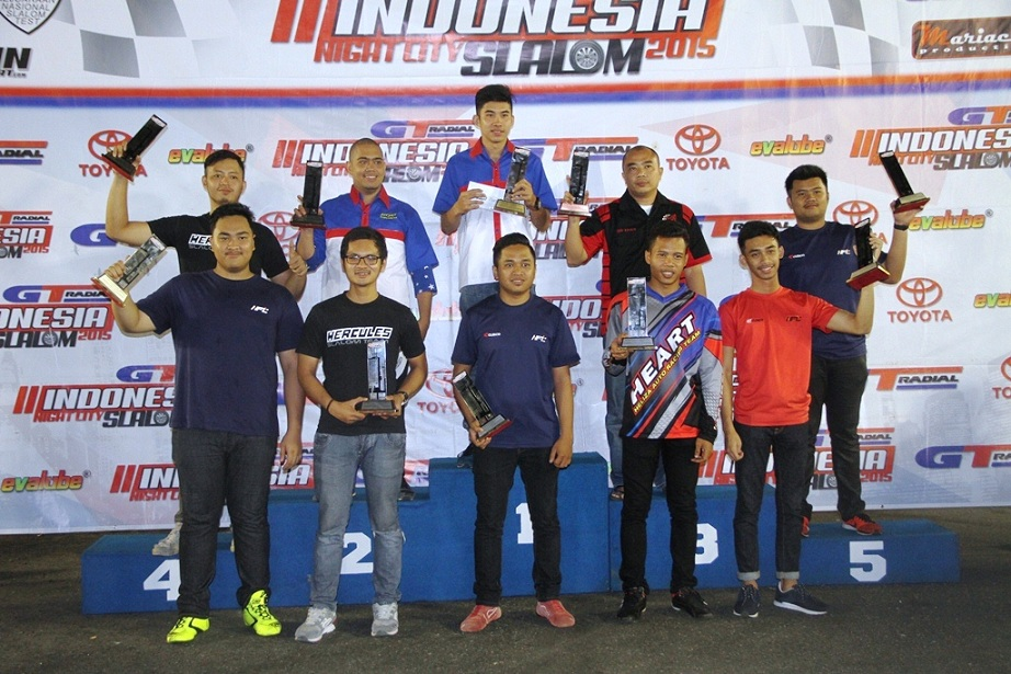 Kejurnas GT Radial Indonesia Night City Slalom 2015 Seri-3 (SOLO)