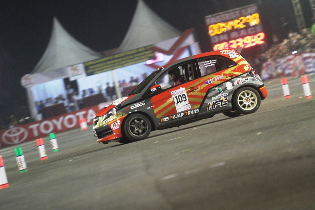 Kejurnas GT Radial Indonesia Night City Slalom (INCS) 2016 Seri-1 Malang