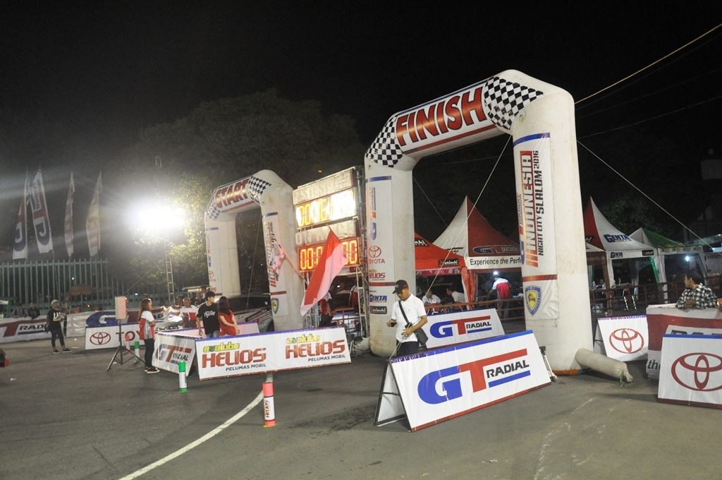 Kejurnas GT Radial Indonesia Night City Slalom (INCS) 2016 Seri-2 Yogjakarta