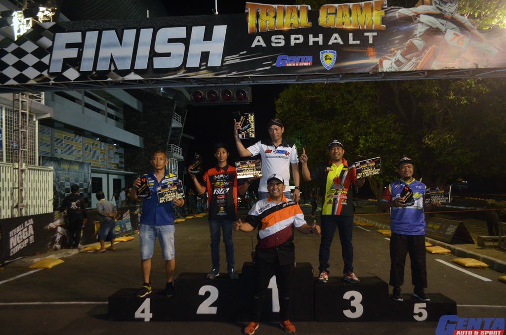 TRIAL GAME  ASPHALT SERI 3 STADION. MANDALKIRDA, 20 - 21 SEPTEMBER 2019