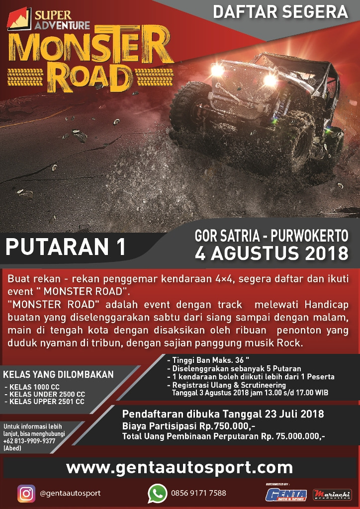 Super Adventure Monster Road, Bukan Offroad Biasa!