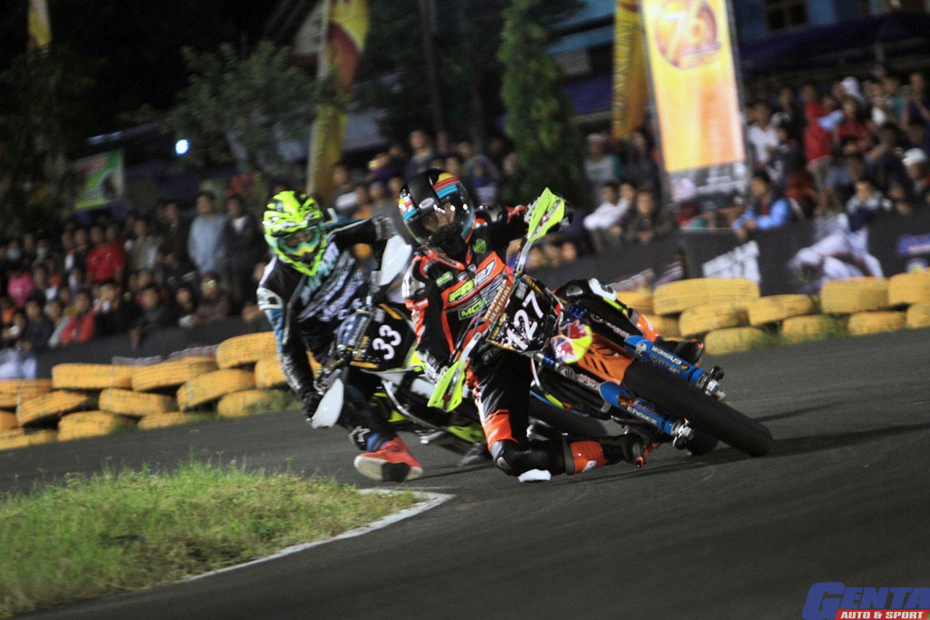 TRIAL GAME  ASPHALT SERI 1 SIRKUIT GOKART BOYOLALI, 22 - 23 FEBRUARY 2019