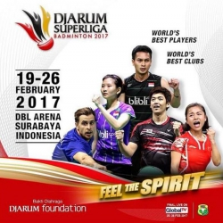 Live Streaming FINAL PUTRA : Anthony Sinisuka (MUSICA CHAMPIONS) VS Shesar Hiren (PB DJARUM) Djarum Superliga Badminton 2017
