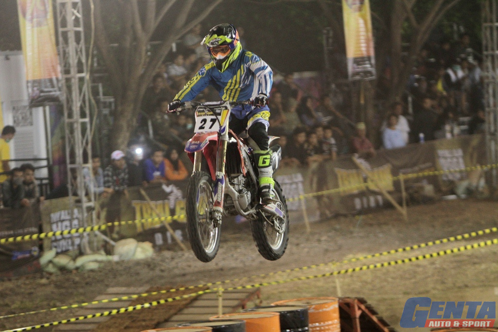 Trial Game Dirt Seri 4, Lumajang - GOR WIra Bhakti (Day 1)